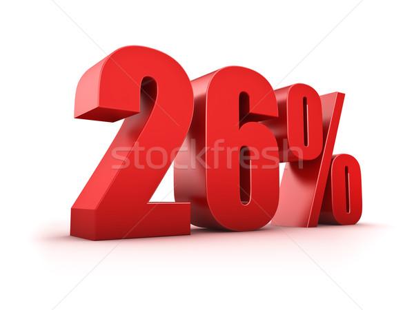 26 cento 3D simbolo mercato Foto d'archivio © froxx