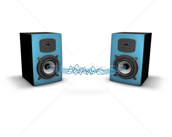 Loudspeakers Stock photo © froxx