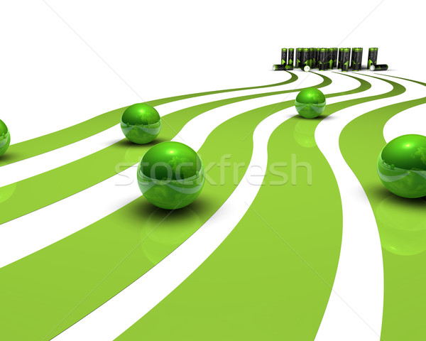 Green energy Stock photo © froxx
