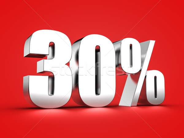 30 percent sign Stock photo © froxx