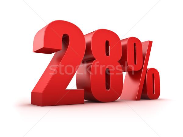 28 percent Stock photo © froxx