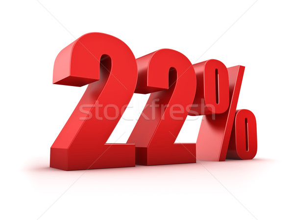 22 percent Stock photo © froxx