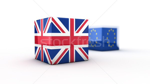 Brexit concept Stock photo © froxx