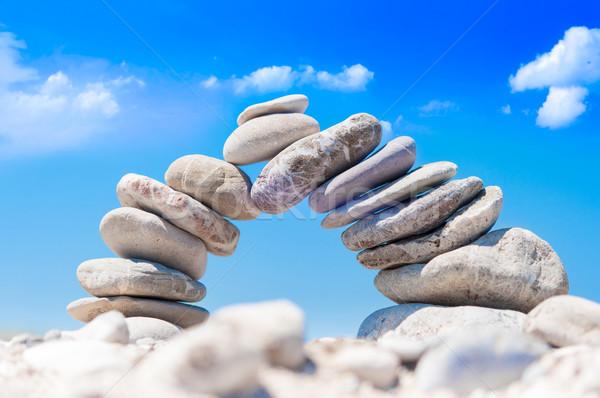 Pietra ponte equilibrio abstract dimostrazione stabilità Foto d'archivio © froxx