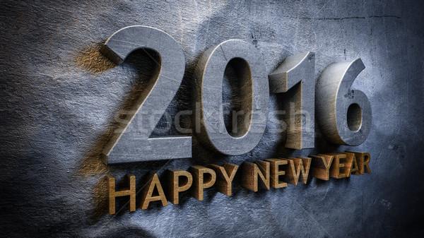 Happy new year 2016 Stock photo © froxx