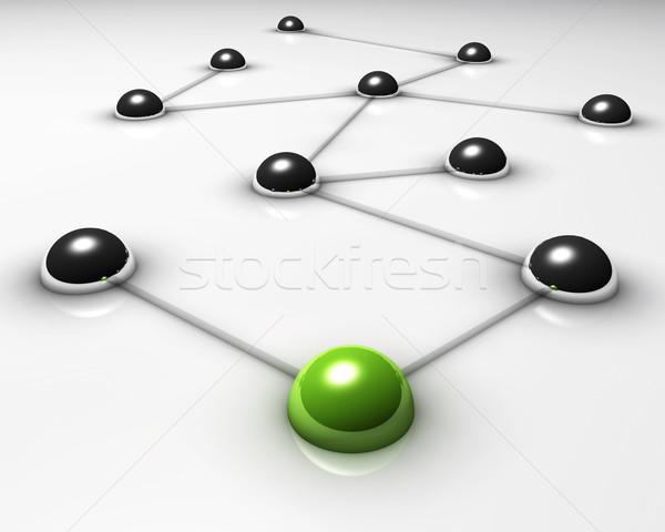 Stock photo: network