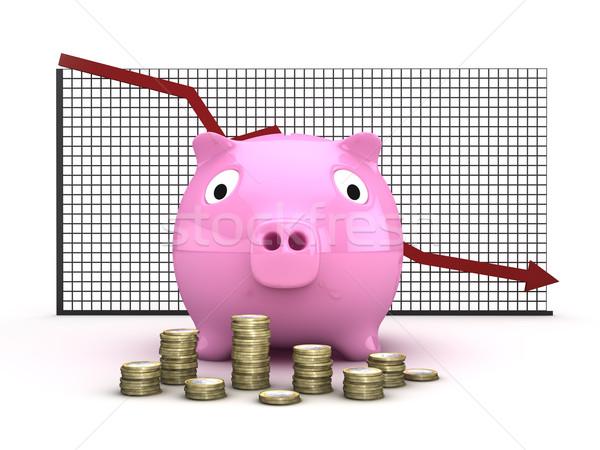 Financial crisis Stock photo © froxx