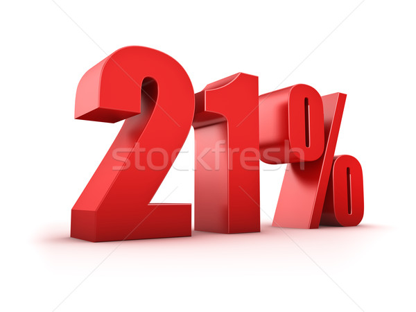 21 percent Stock photo © froxx