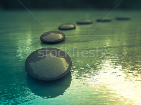 Zen Stones Stock photo © froxx