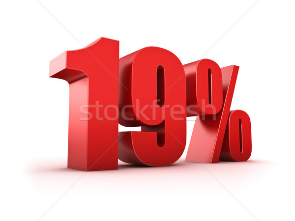 19 percent Stock photo © froxx