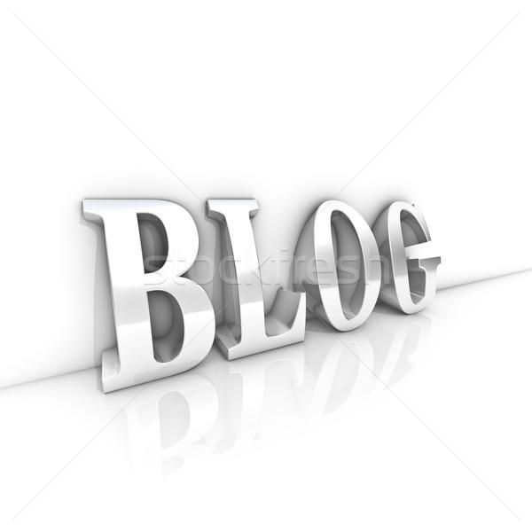 Blog Website Stock photo © froxx