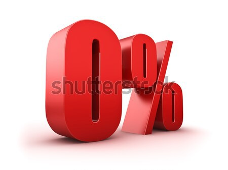 0 percent Stock photo © froxx