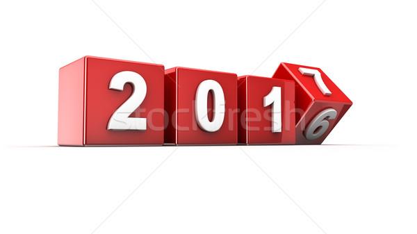 New year 2017 Stock photo © froxx