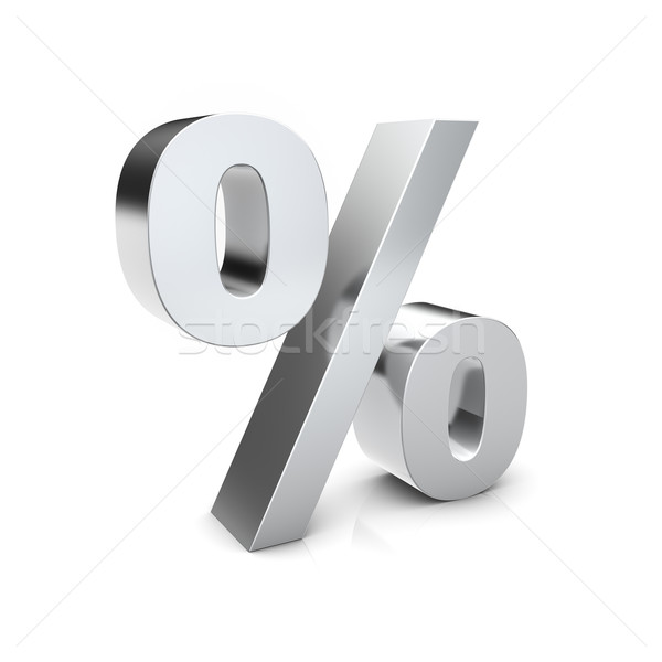 Percent sign Stock photo © froxx