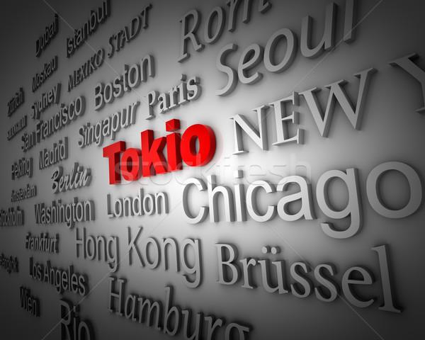 Metropolis Tokyo Stock photo © froxx