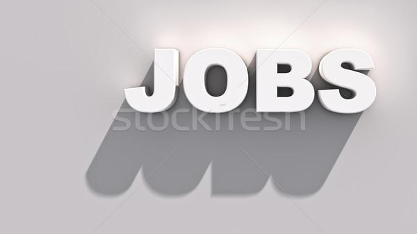 Offerte di lavoro abstract dimostrazione business internet lavoro Foto d'archivio © froxx