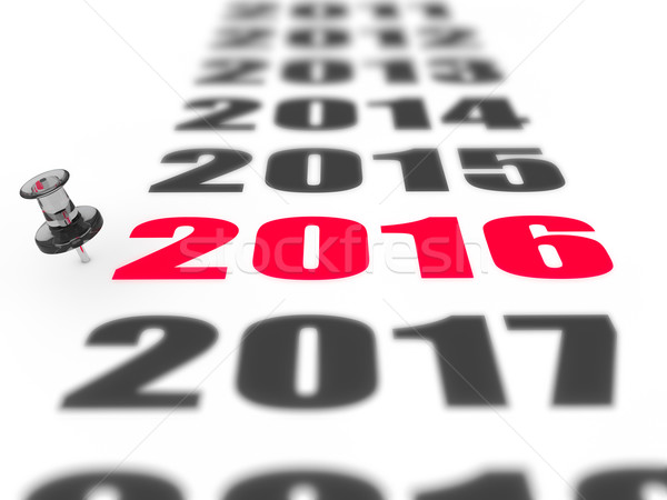 New year 2016 Stock photo © froxx