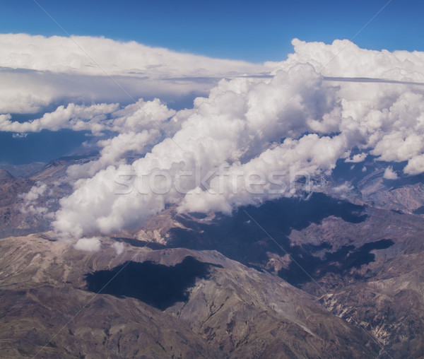 Clouds over the Andes Stock photo © fxegs