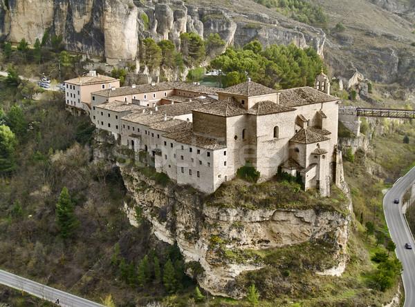Tarde gótico cedo mosteiro Espanha Foto stock © fxegs