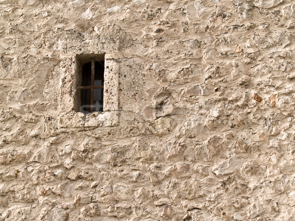 Stone wall and window Stock photo © fxegs