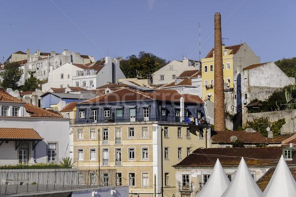 Lisbon buildings Stock photo © fxegs