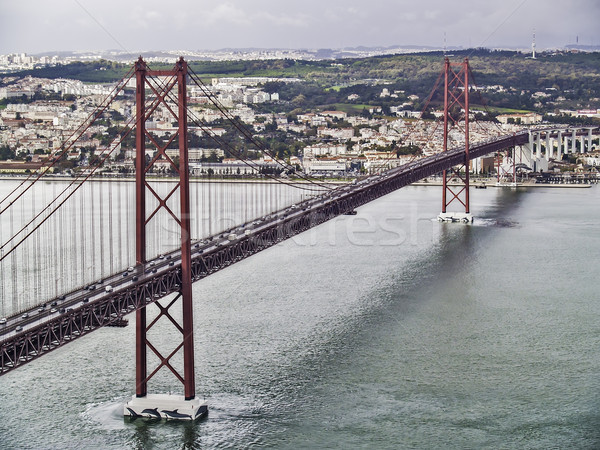 Stock fotó: 25 · Lisszabon · híd · 2012 · acél · export