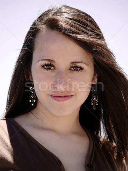 Girl portrait Stock photo © fxegs