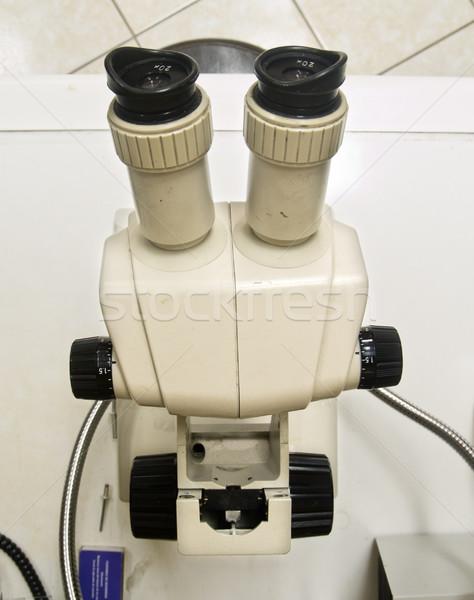 Research microscope Stock photo © fxegs