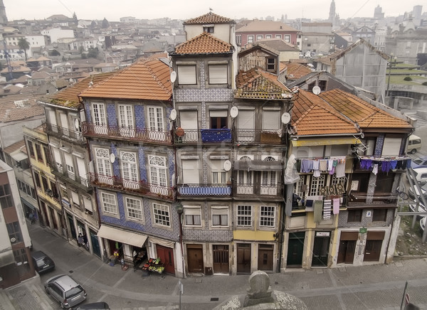 Oporto traditional houses Stock photo © fxegs