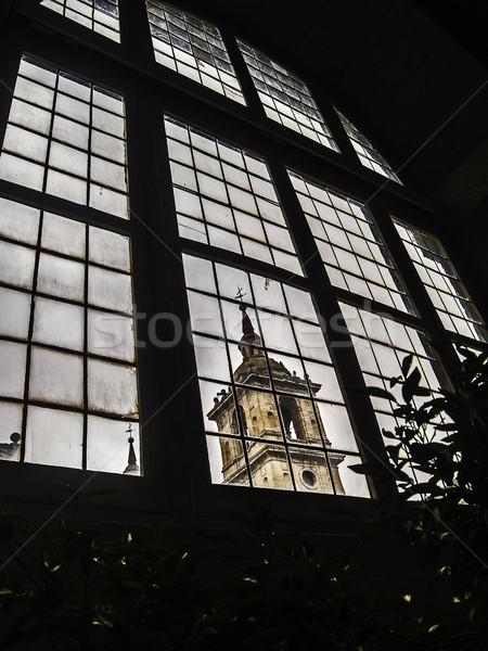 Klooster toren venster 2012 koninklijk zitting Stockfoto © fxegs