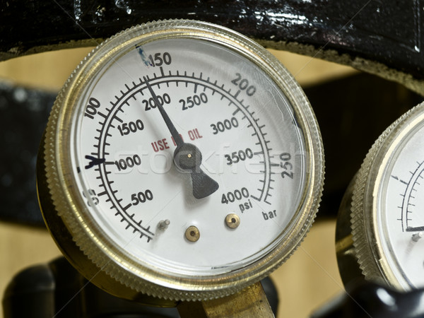 Barometer display Stock photo © fxegs