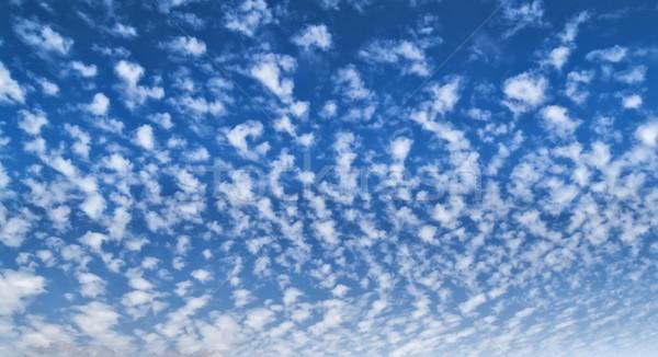 небе облака глубокий Blue Sky воды красоту Сток-фото © fxegs