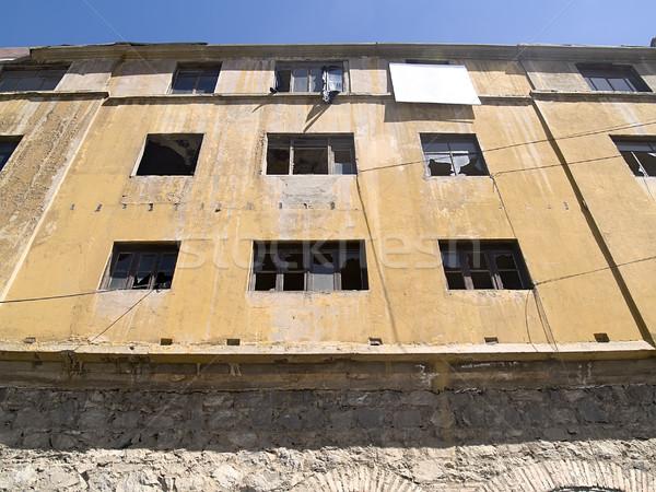 Ruined facade Stock photo © fxegs