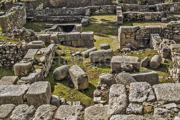 Arab ruins archeological site Stock photo © fxegs