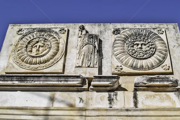 Roman forum in Merida detail Stock photo © fxegs