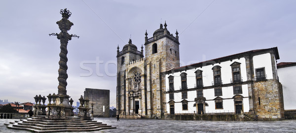 Oporto cathedral Stock photo © fxegs