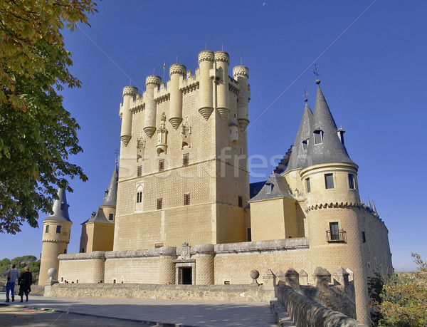 Spanish castle Stock photo © fxegs