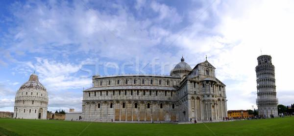Панорама панорамный фото башни Италия Сток-фото © fyletto