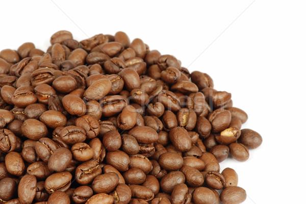 кофе изолированный подробность куча Сток-фото © fyletto