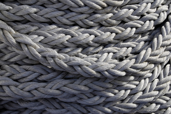 Navy rope background  Stock photo © fyletto