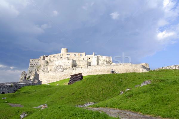 Spissky castle Stock photo © fyletto