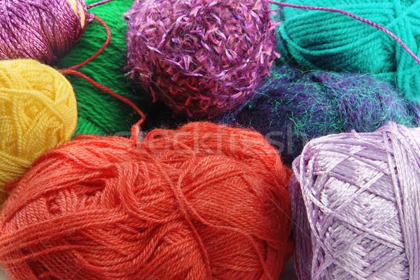 Veel kleurrijk mode Blauw Stockfoto © fyletto