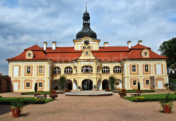 Nebilovy castle Stock photo © fyletto