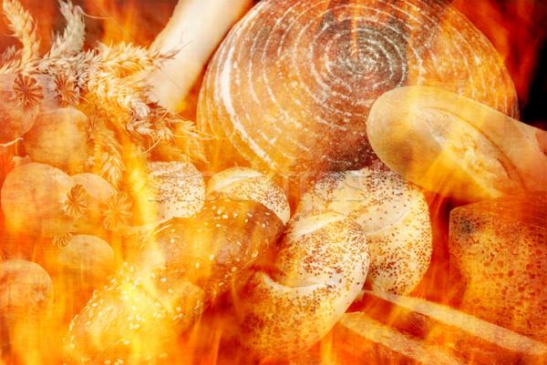 хлеб различный подобно товары пламя Сток-фото © fyletto