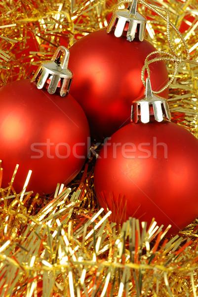 Christmas balls Stock photo © fyletto