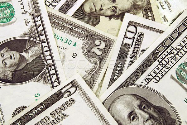 Dólares billetes Estados Unidos América uno Foto stock © fyletto