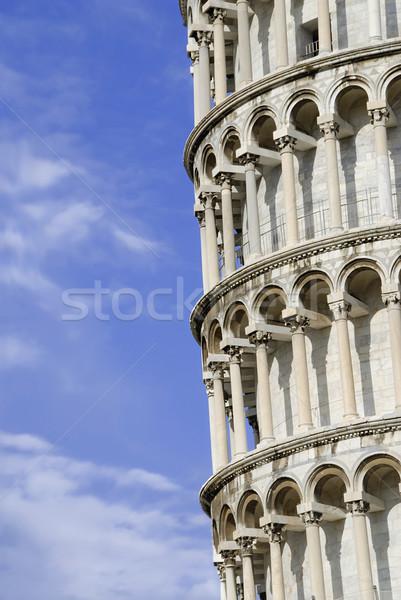 Wieża Włochy niebo sztuki kościoła Zdjęcia stock © fyletto