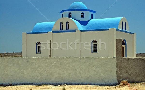 Greek church Stock photo © fyletto