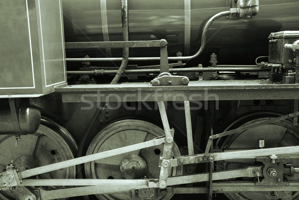 Ancient train Stock photo © fyletto