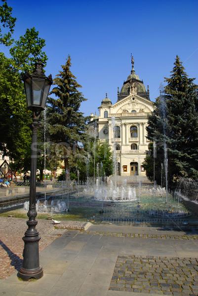 Kosice City Hall Stock photo © fyletto